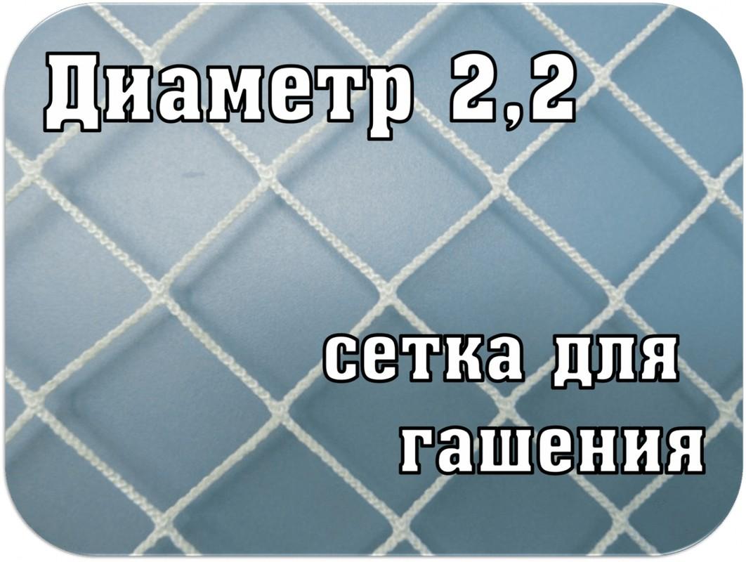 Купить Сетка гашения для хоккейных ворот SG d=2,2мм SG-195,