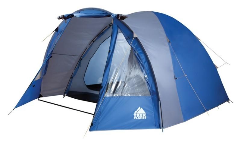 Палатка 4-м Trek Planet Indiana 4 синий/серый