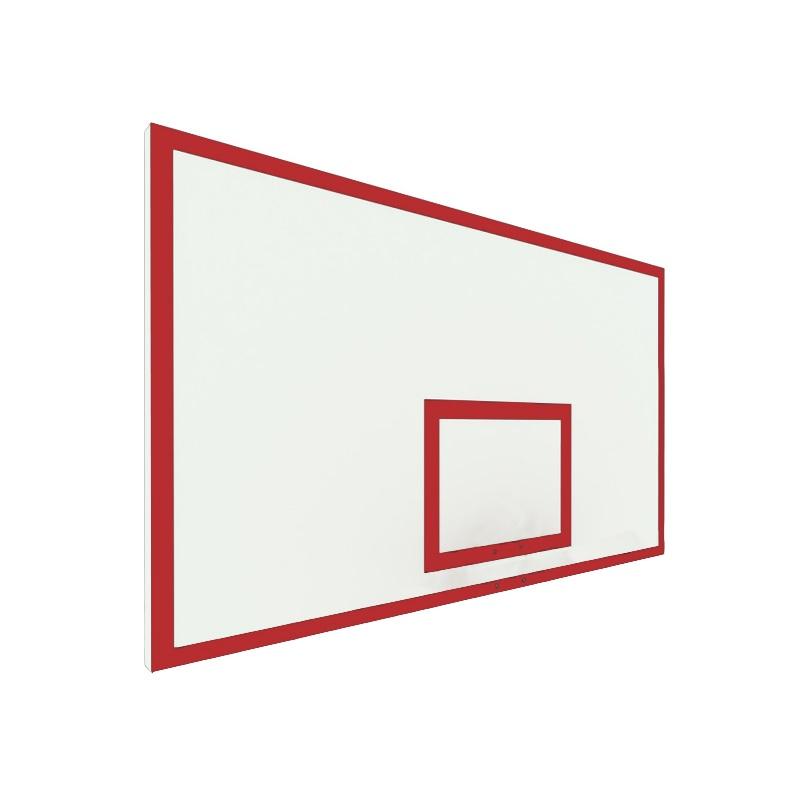 Купить Щит баскетбольный игровой 180х105 фанера без рамы (разметка красная) Dinamika ZSO-002096,