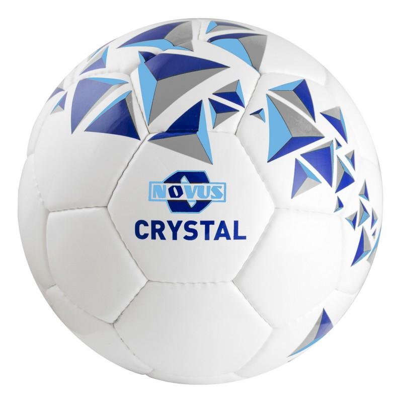 Купить Мяч футбольный Novus Crystal р.5 бело-сине-голубой,