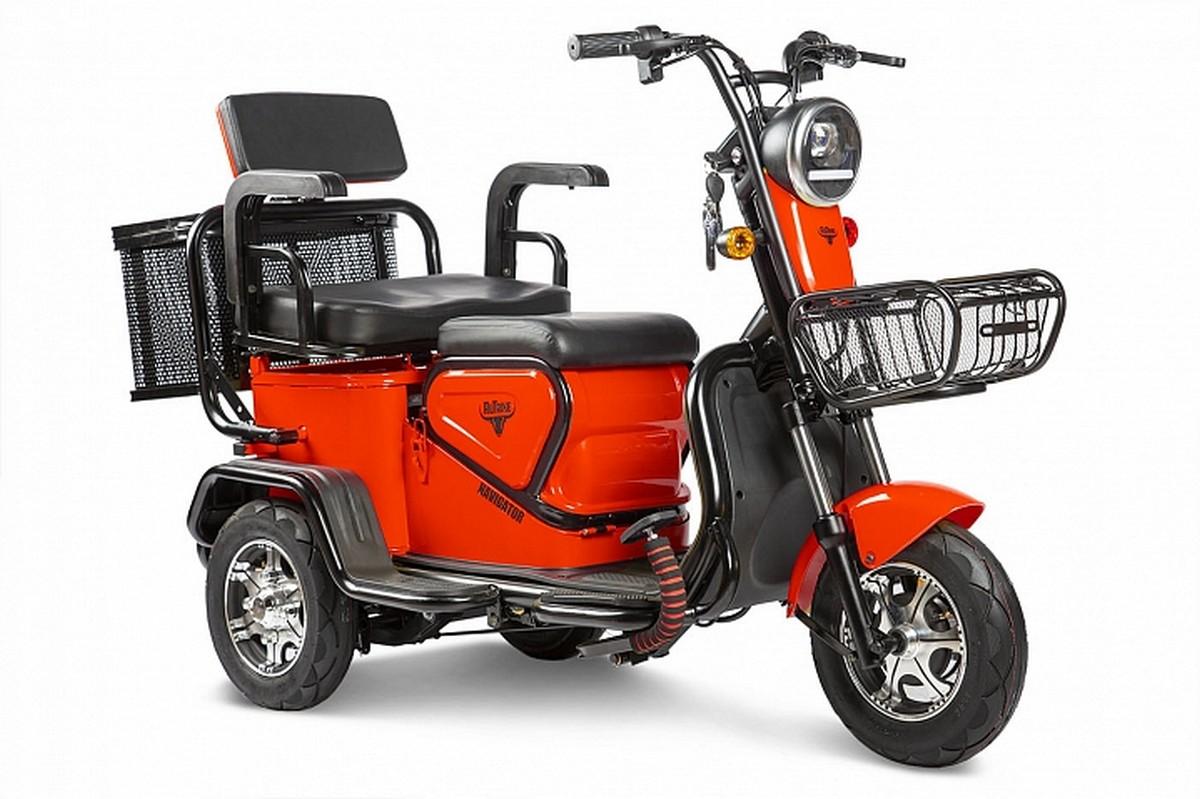 Купить Пассажирский трицикл RuTrike Навигатор 022658-2349 красный,