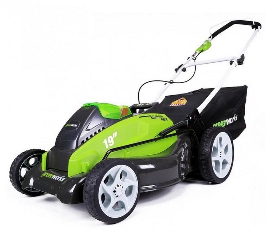 Газонокосилка GreenWorks G40LM45K4