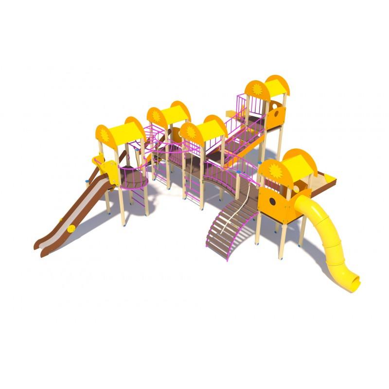 Купить Детскийигровой комплекс МАФсериисолнышкоЗабаваДИО03071, МАФ