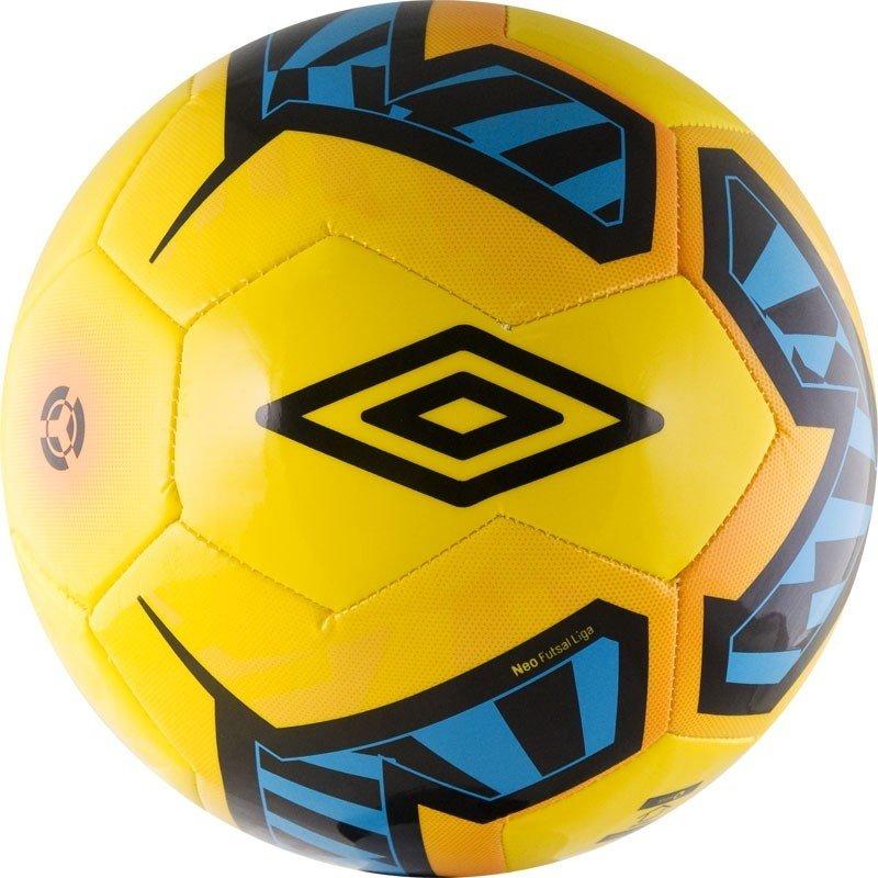 Мяч футзальный Umbro Neo Futsal Liga р.4 мяч футзальный любительский р 4 umbro neo futsal liga 20871u fcy