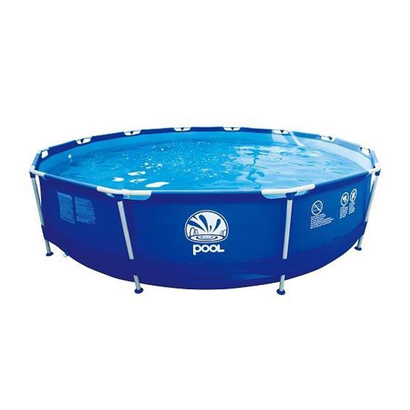 Круглый бассейн Jilong Round Steel Frame Pools 300GAL 17236EU