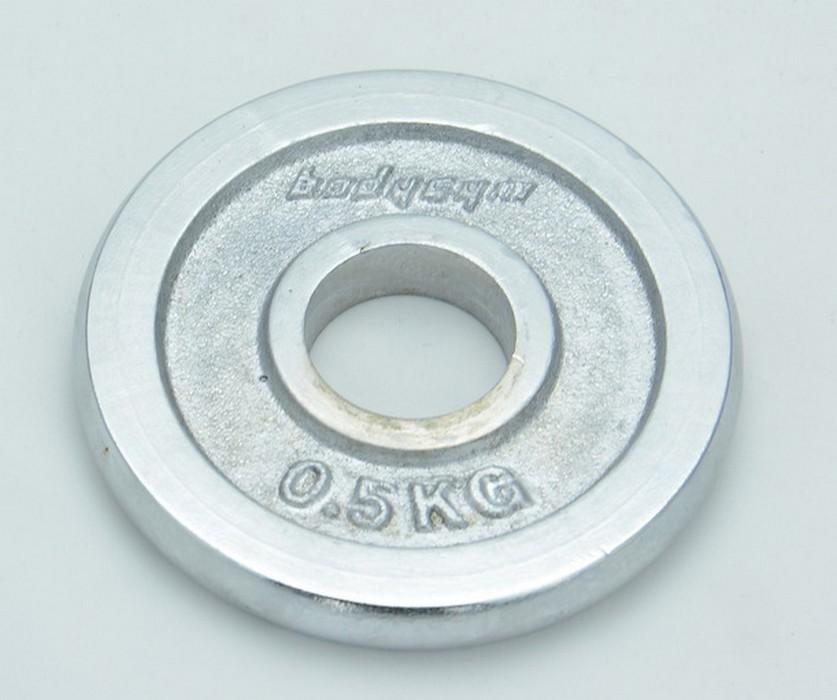 Блин хромированный Body Gym D=31 мм WP06 0,5 кг