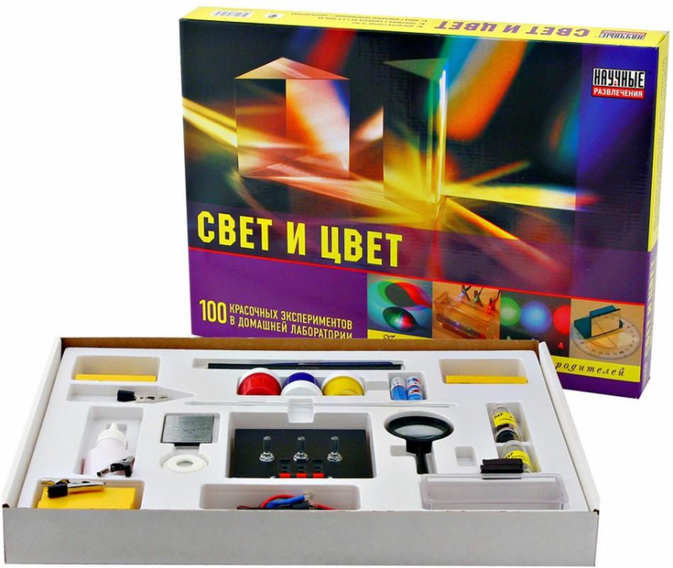 Свет и цвет Научные развлечения HP00007
