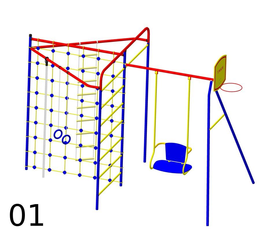 Детский спортивный комплекс Пионер Стрела-01