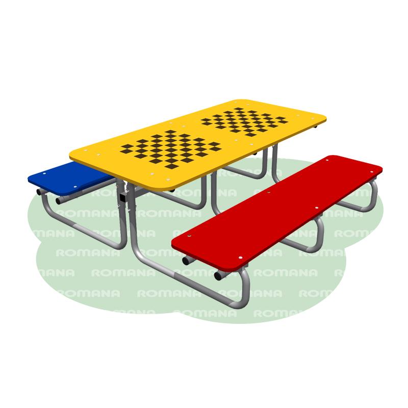 Купить Стол со скамьями Romana 302.13.00, Скамейки и лавочки