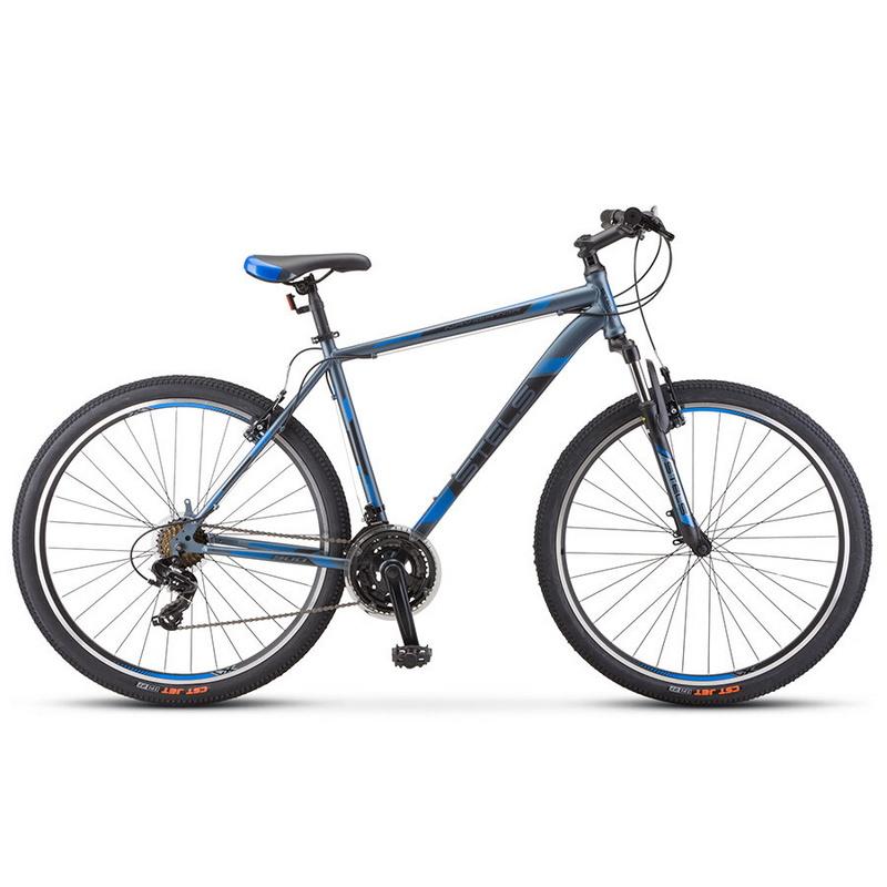 Купить Велосипед Stels Navigator 900 V V010 Серый/синий 29Ø 2019 (LU093449),