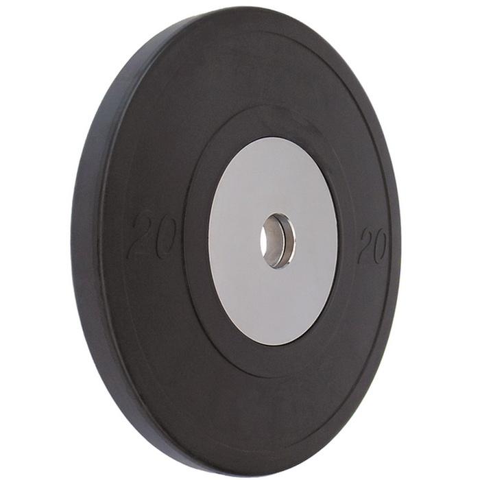 Купить Диск обрезиненный Vertex Crossfit D50мм 20 кг., черный,