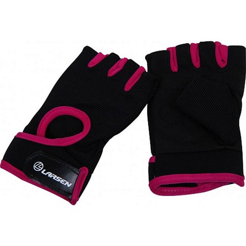 Перчатки для фитнеса Larsen NT558P pink