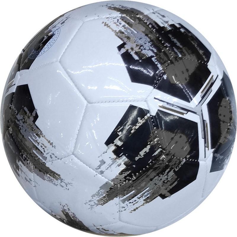 Купить Мяч футбольный №5 (серый), ПВХ 2.7мм E29371, NoBrand