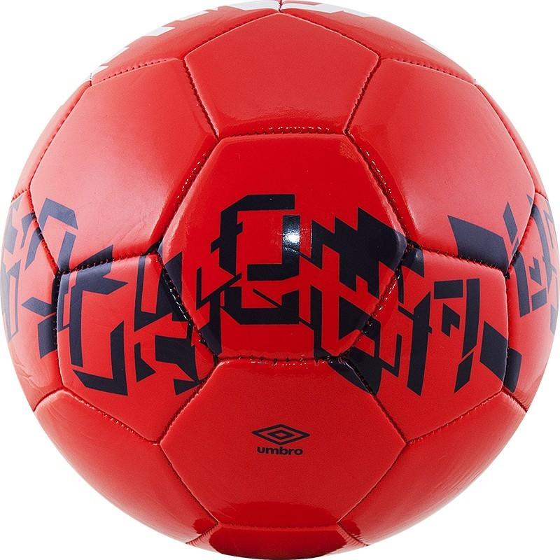 Мяч футбольный Umbro Veloce Supporter 20905U (6Q4) крас/т.син/бел. (р.4)
