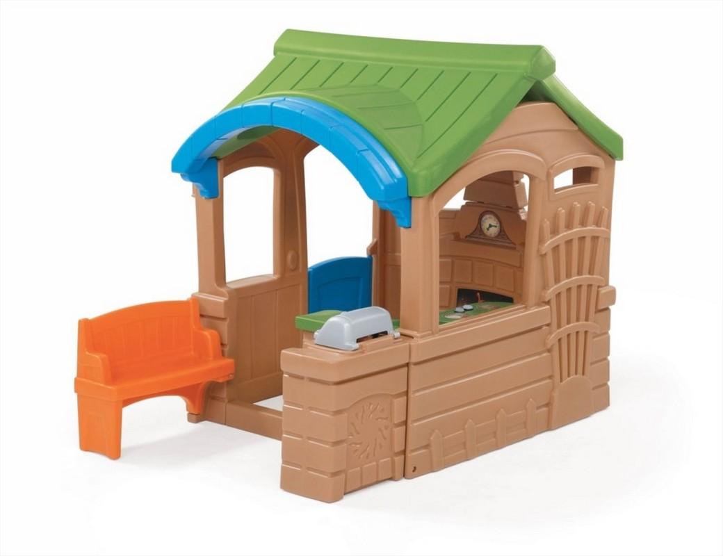 Купить Детский домик Step2 Домик с грилем 800100, Step-2, Детские игровые домики