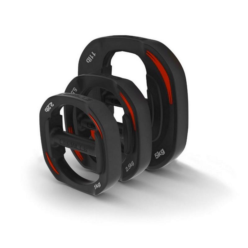 Набор весов для штанги Smartbar 2x1kg, 2x2.5kg, 2x5.0kg Les Mills от Дом Спорта