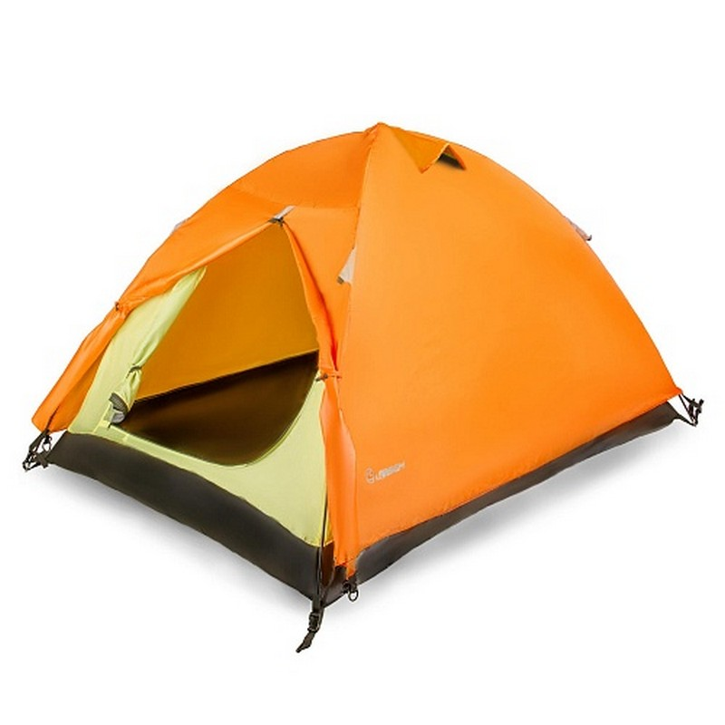Купить Палатка 2-м Larsen A2 серо-оранжевый в России