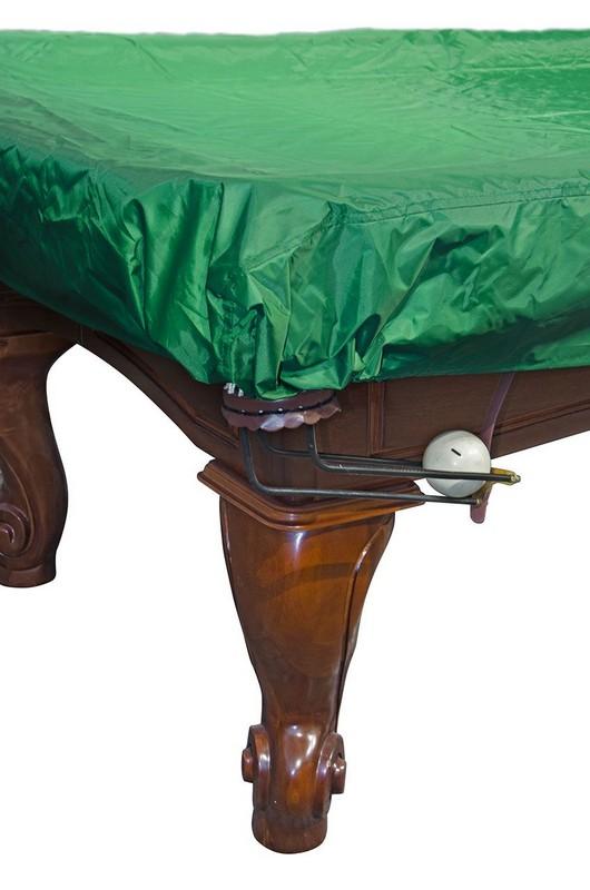Купить Покрывало для стола 8 ф 70.114.08.0 влагостойкое, зеленое, резинки на лузах, NoBrand