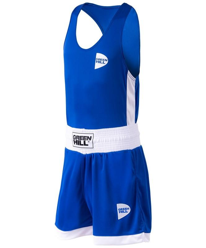 Купить Форма боксерская Green Hill Interlock BSI-3805 синий,