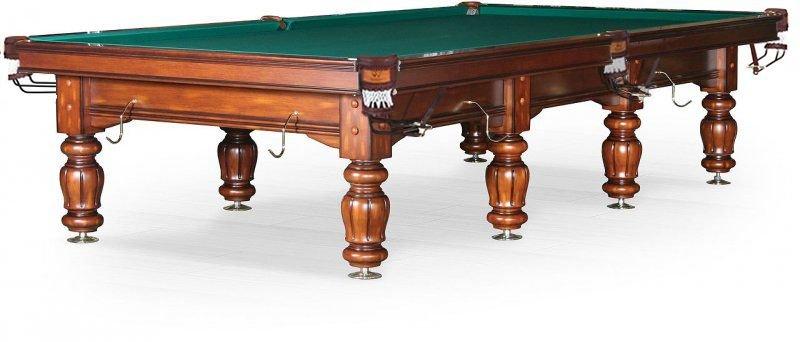 Бильярдный стол для русского бильярда Classic II 12 ф 55.996.12.3 орех, NoBrand  - купить со скидкой