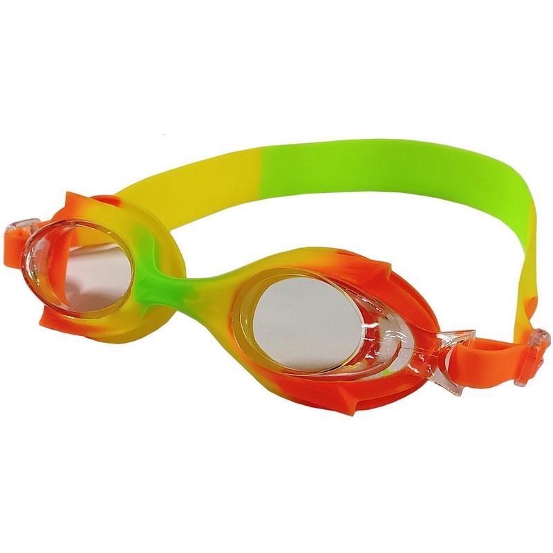 Купить Очки для плавания B31524-4 мультколор (Желтооранжевыйзеленый Mix-10), NoBrand