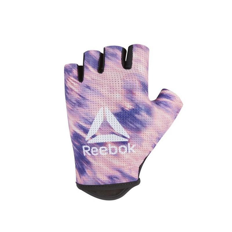 Перчатки для фитнеса Reebok RAGB розовый