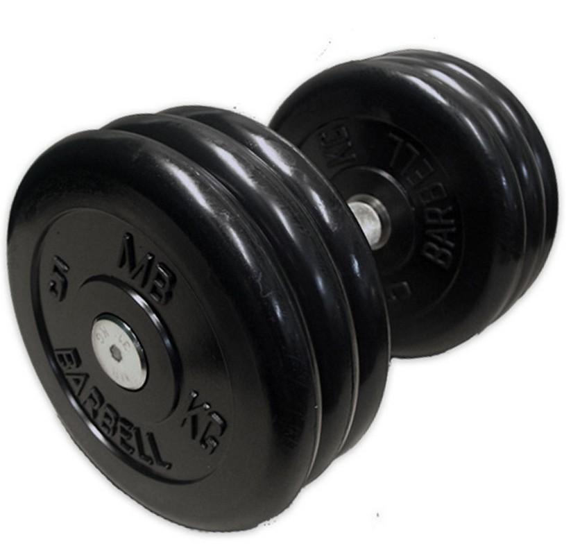 Гантель 31 кг MBBarbell MB-FdbM-B31 aquilon mb fdbm b61 href