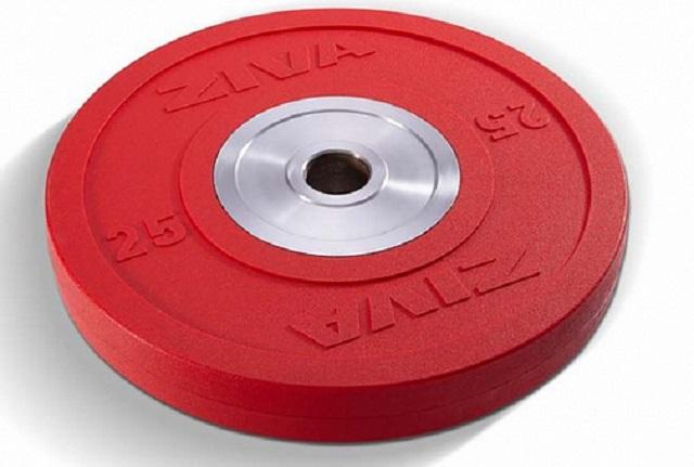 Диск для тяжелой атлетики, обрезиненный, цветной 2,5-25кг Ziva ZVO ZVO-BDRB ziva zsc 057