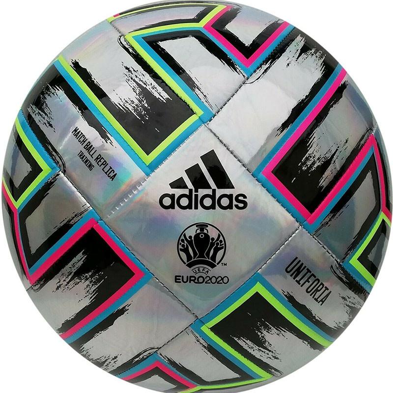 Купить Мяч футбольный Adidas Uniforia Training FH7353 р.5,