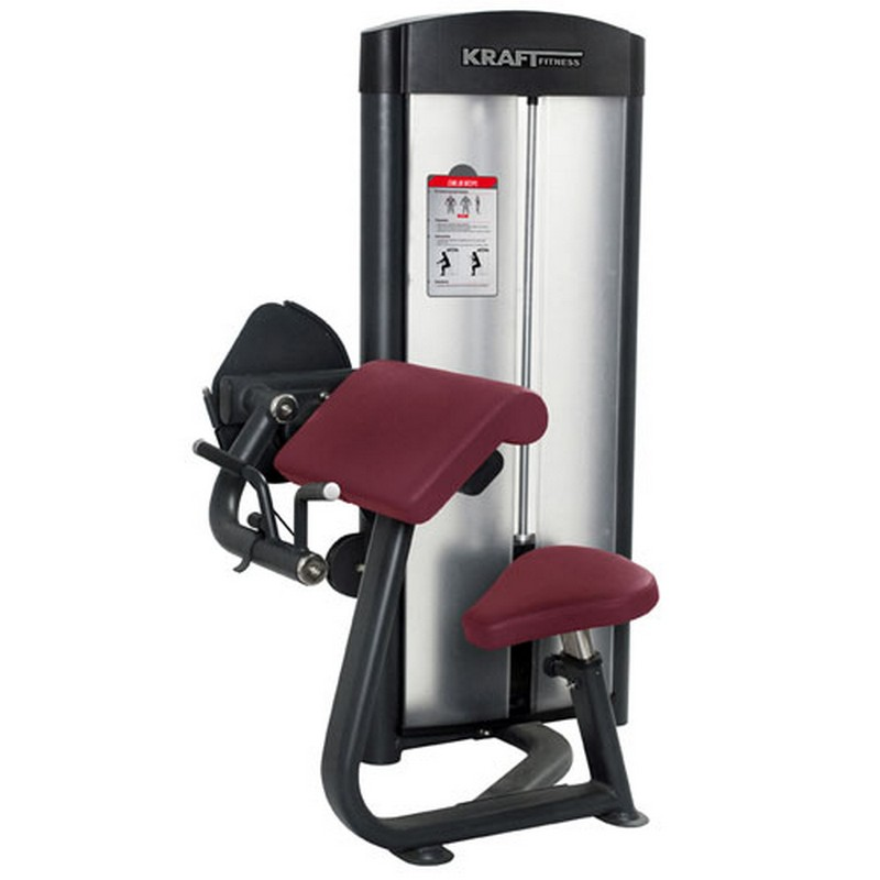 Бицепс-машина Kraft Fitness KFBC регулируемая скамья kraft fitness kffiuby