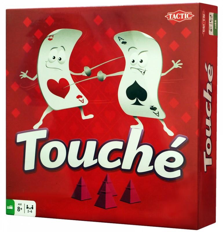 Настольная игра Tactic Games Туше игра печатная tactic 02752 туше