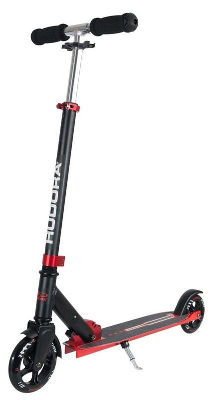 Самокат Hudora Big Wheel Bold 145 red Красный hudora big wheel rx 205