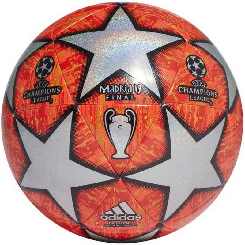 Мяч футбольный Adidas Finale Madrid 19 Top Capitano DN8686 р.5