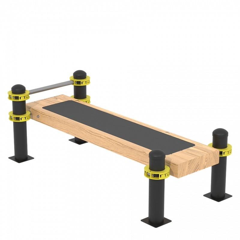 Купить Горизонтальная гимнастическая скамья Iron King GT02,