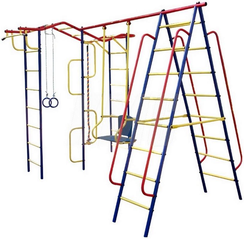 Детский спортивный комплекс Пионер Вираж-плюс Дуэт дск пионер вираж дачный плюс со спиралью
