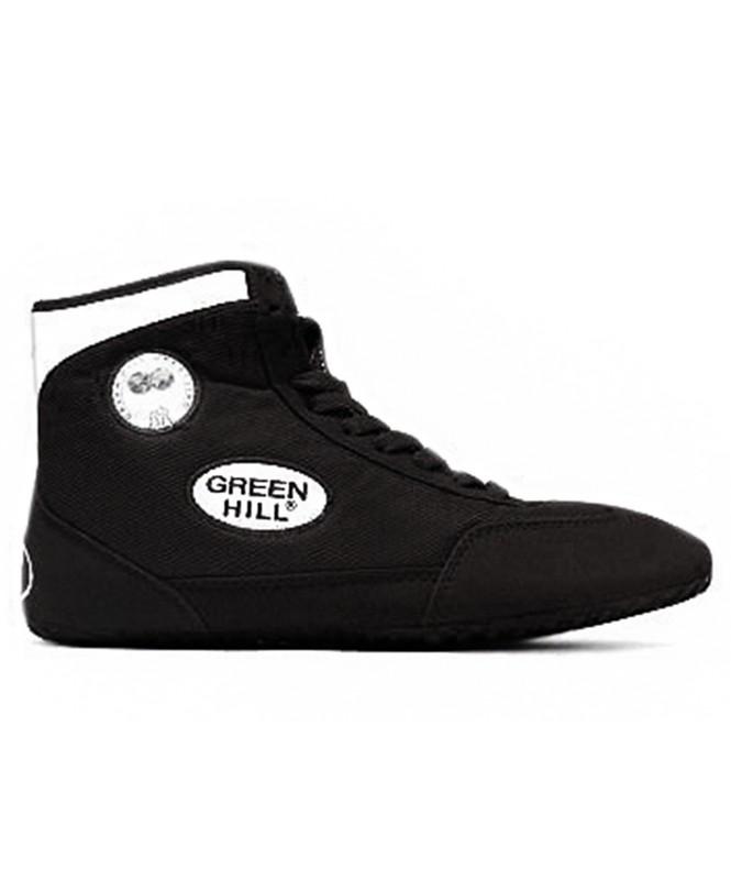 Обувь для борьбы Green Hill GWB-3052/GWB-3055 черный/белый (35-46) от Дом Спорта