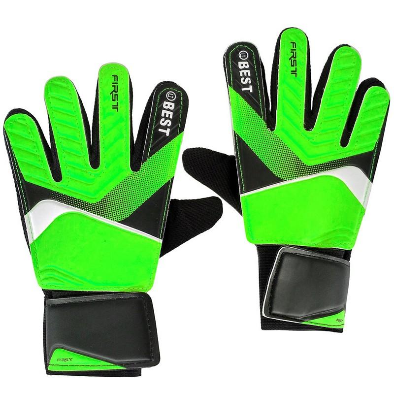 Купить Перчатки вратарские C28834-1 Зеленый, NoBrand