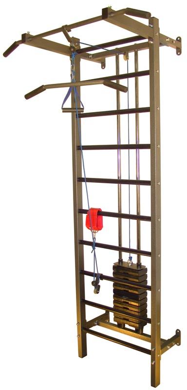 Тренажер для реабилитации с грузоблоками 50 кг., шаг 5 кг. Plastep ТP-PRO50,  - купить со скидкой