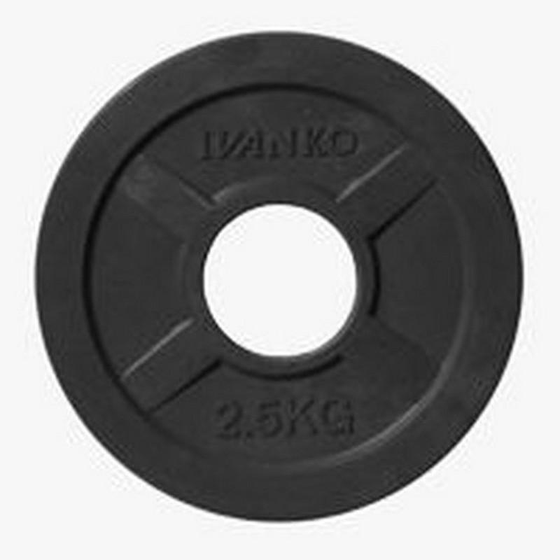 Купить Диск d51 мм Johns 2,5 кг DR71022 - 2,5B черный,