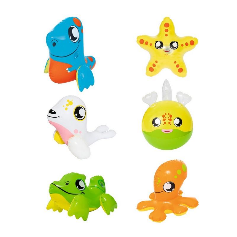 Надувная игрушка (крокодил, утка рыба, кит, морской лев, дельфин) Bestway 34030