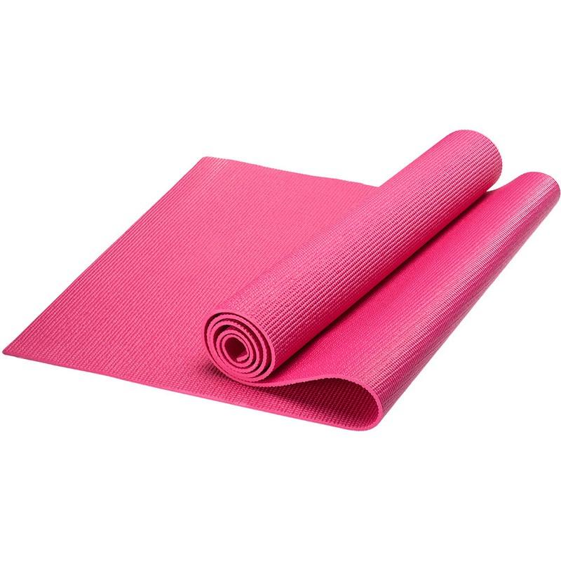 Купить Коврик для йоги PVC, 173x61x0,3 см HKEM112-03-PINK розовый, NoBrand