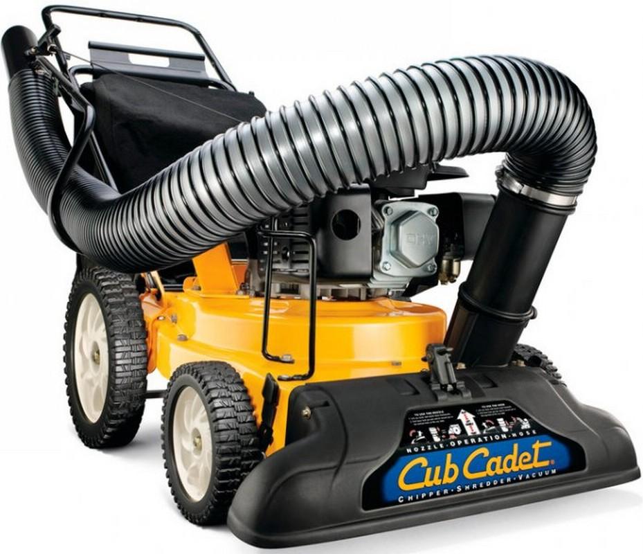 Садовый пылесос бензиновый Cub Cadet CSV 050 садовый пылесос воздуходувка cub cadet csv 070