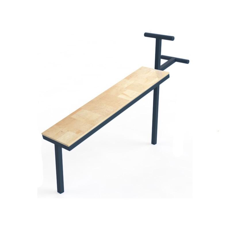 Пресс-скамья (уличная) Dinamika ZSO-002843,  - купить со скидкой