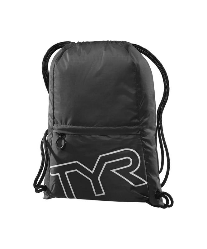 Купить Рюкзак-мешок TYR Drawstring Backpack, LPSO2/001, черный,