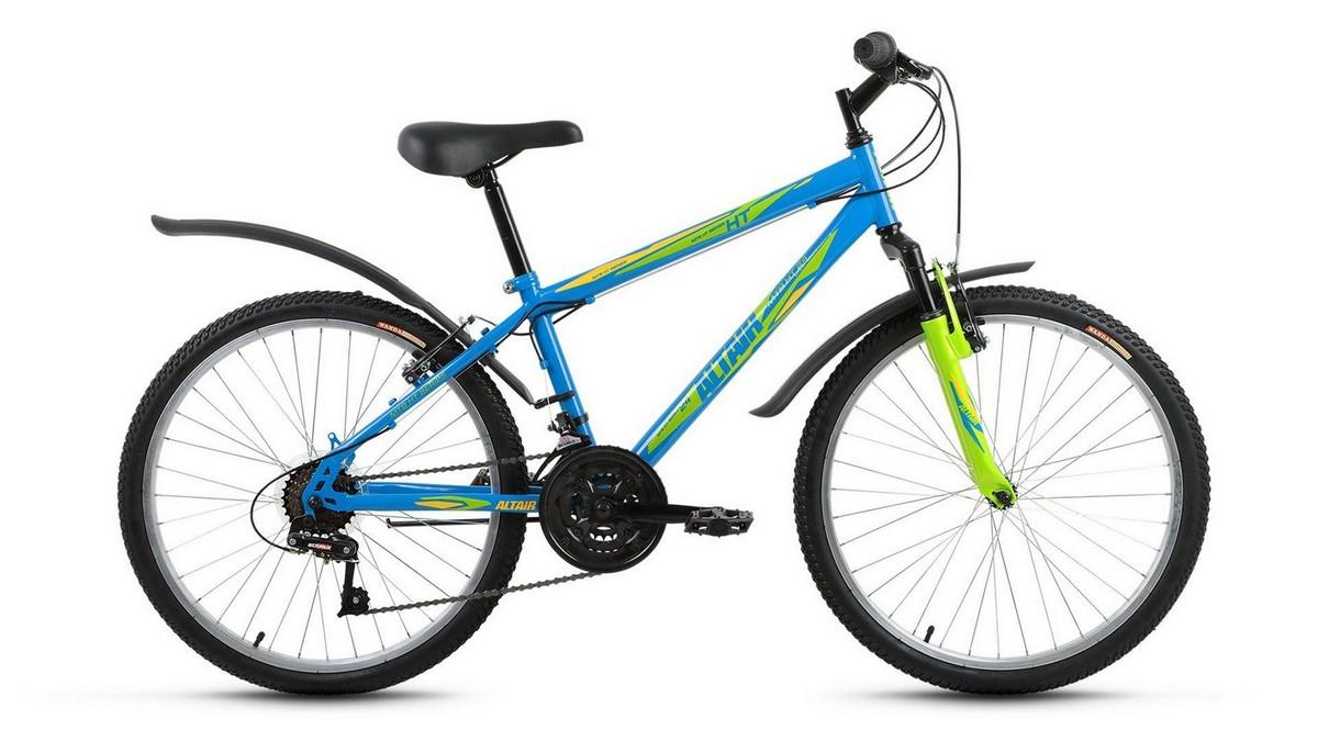 Подростковый велосипед Altair MTB HT 24 (2017) синий