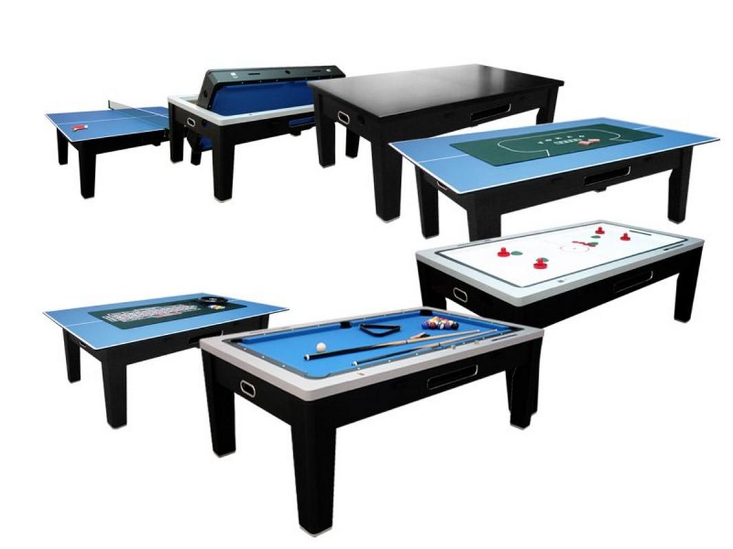 Игровой стол - многофункциональный DBO Dybior Tornado черный