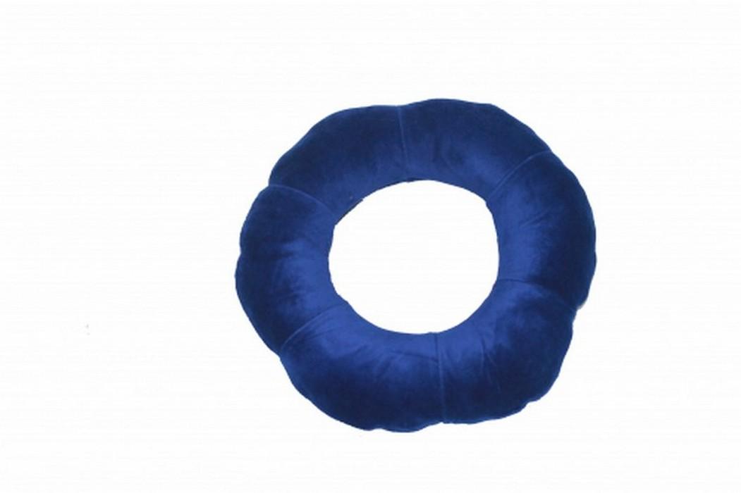 Подушка детская надувная, синяя