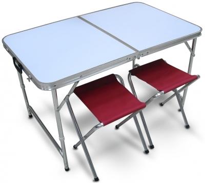 Складной стол и две табуретки PT-019