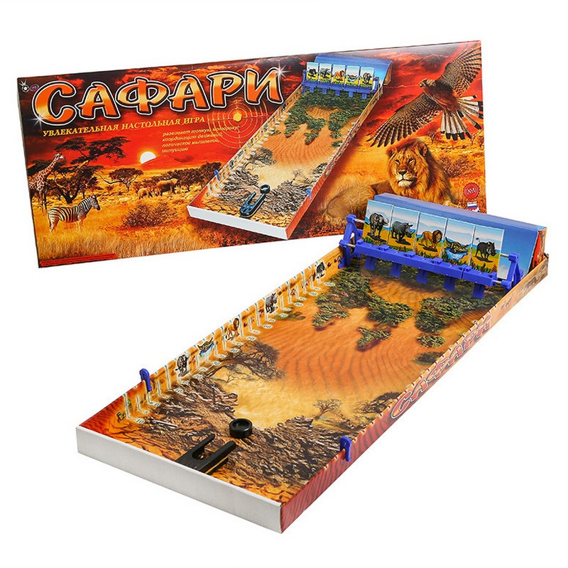 Купить Настольная игра Сафари omsaf, NoBrand