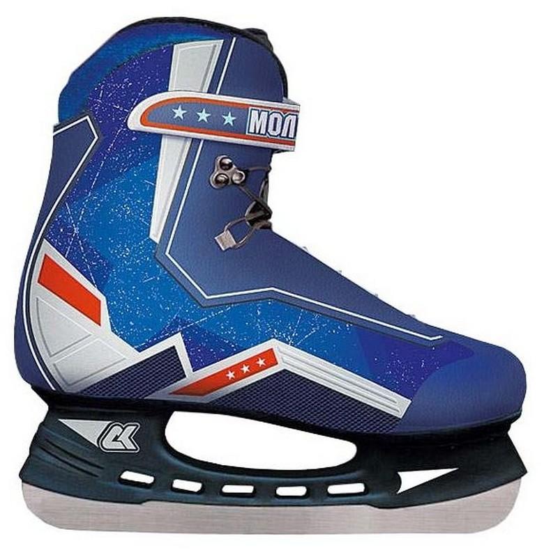 Хоккейные коньки СК Молодежка MHS коньки onlitop 223f 37 40 blue 806164